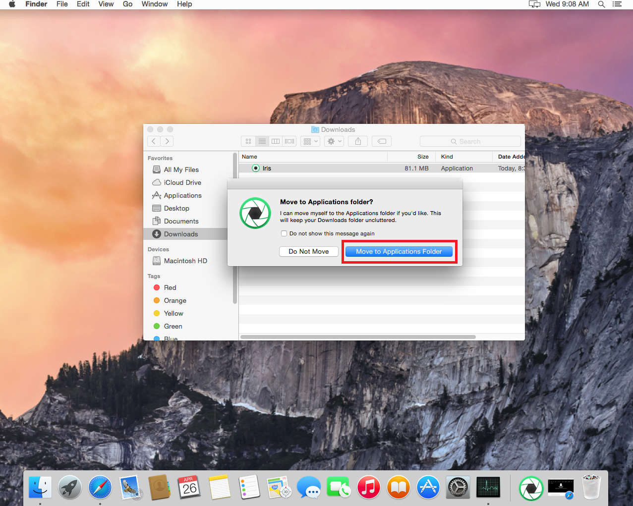 how to access mac applications folder