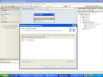 how web application is configured