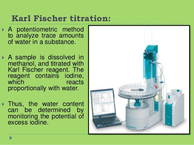 application of redox titration in industry