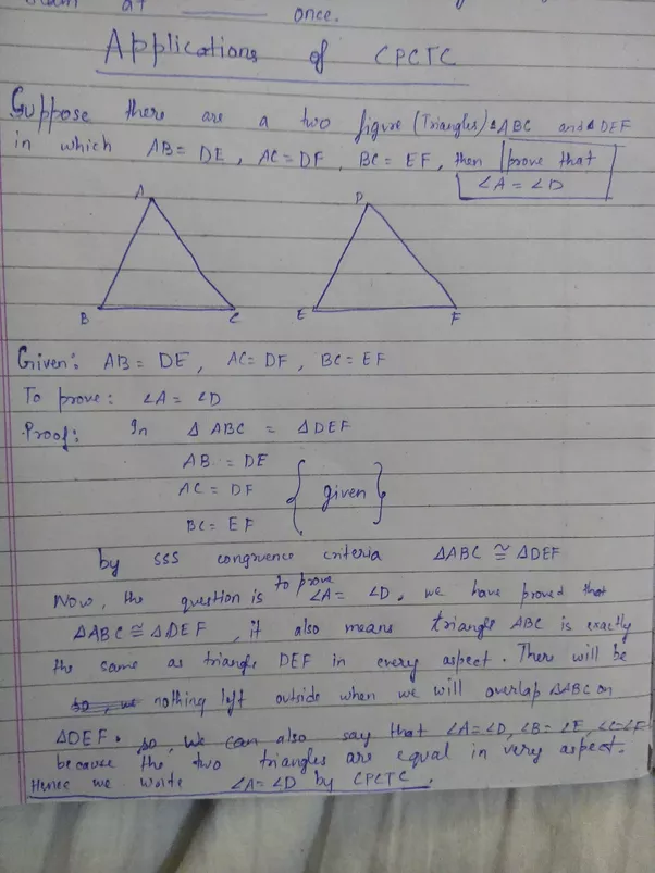 application of the mean in math