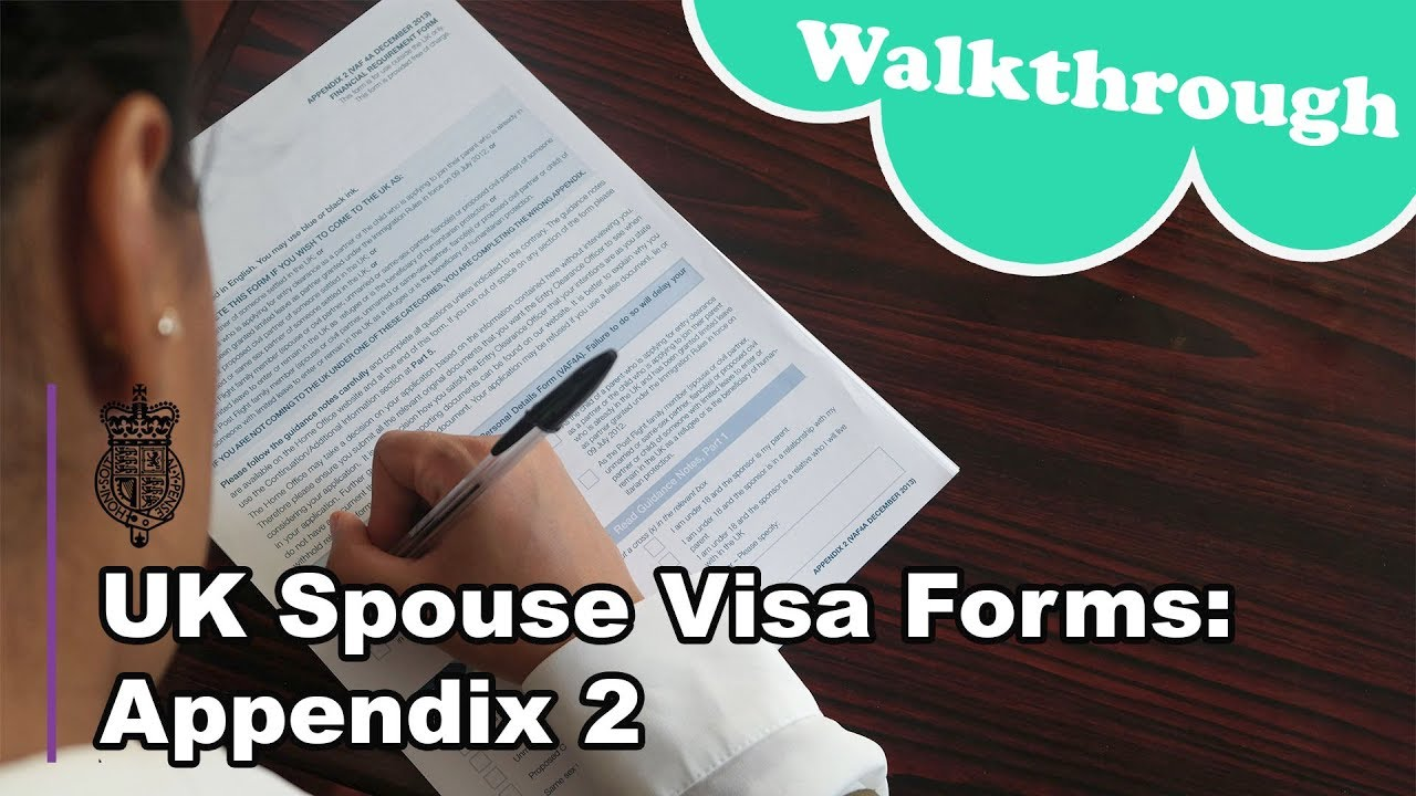 uk spouse visa application form 2018