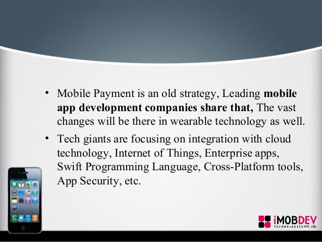mobile application technologies for airport