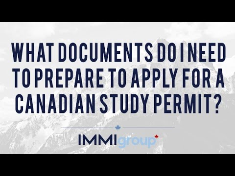 post study work visa applicant documents